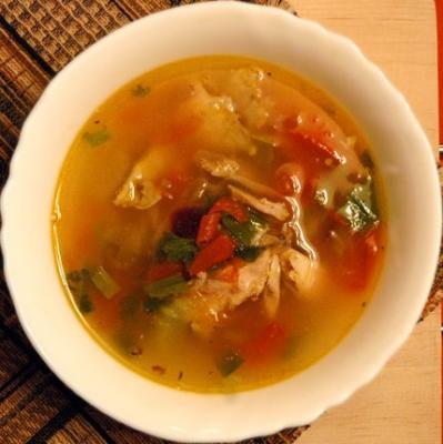 Способ приготовления супа «Эврика»