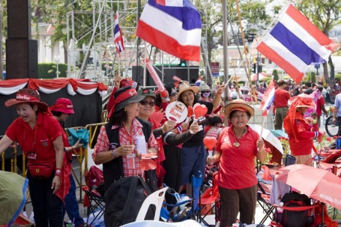 Волнения в столице Таиланда