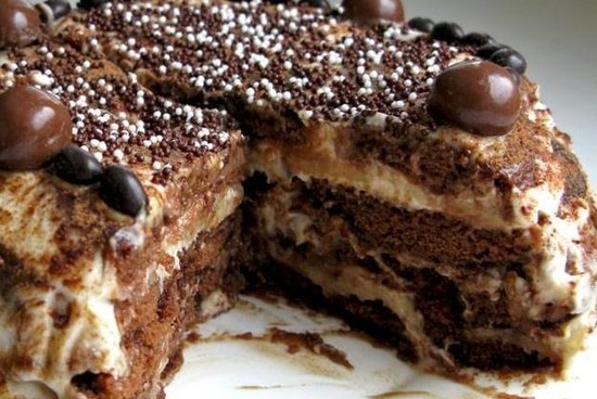 Рецепт приготовления пряничного торта