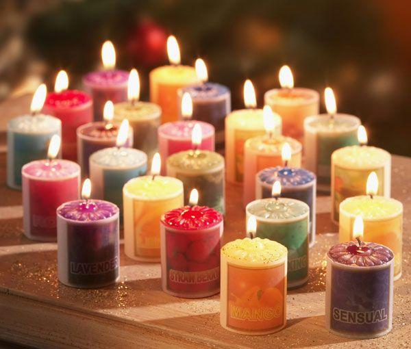 Ароматические и парфюмерные свечи