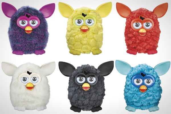 how to change the character of the Furby