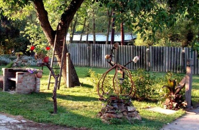 Как украсит сад огород своими руками фото 736
