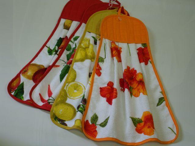 Красивое кухонное полотенце своими руками