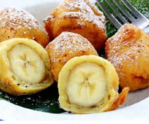 Как делают бананы в кляре