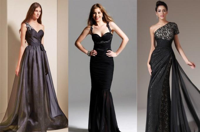 Можно ли надеть на свадьбу черное платье