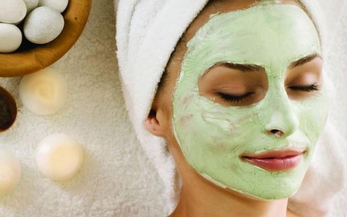 Как сделать маску для лица из бесцветной хны