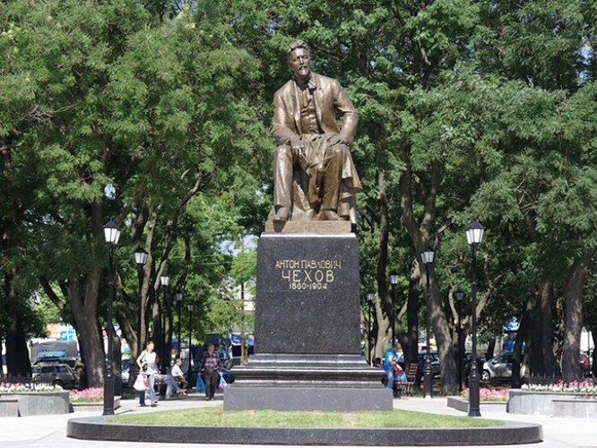 Памятник А.П. Чехову, г. Таганрог
