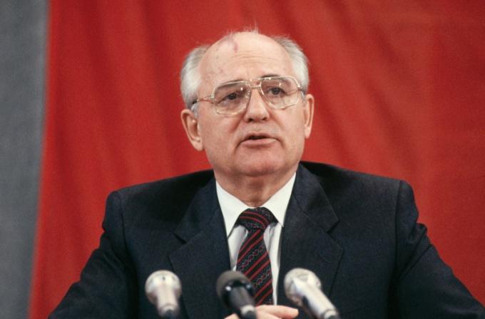 М.С. Горбачев, последний руководитель СССР