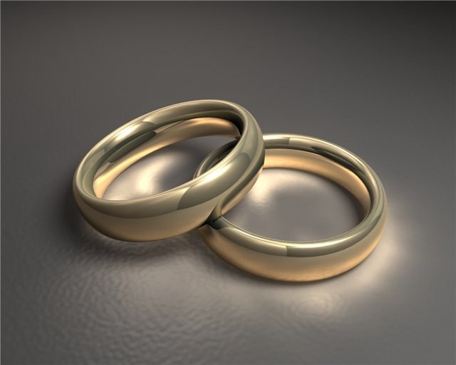 What should be the wedding rings