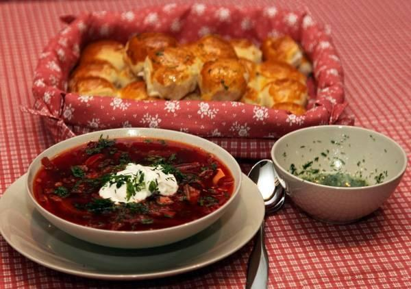Ukrainian borsch: benefit or harm