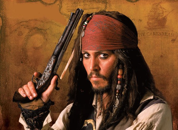 "What 5 part of the movie ""pirates of the Caribbean"""