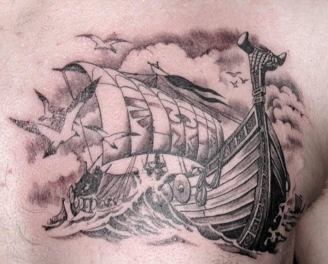 Что обозначает татуировка корабль