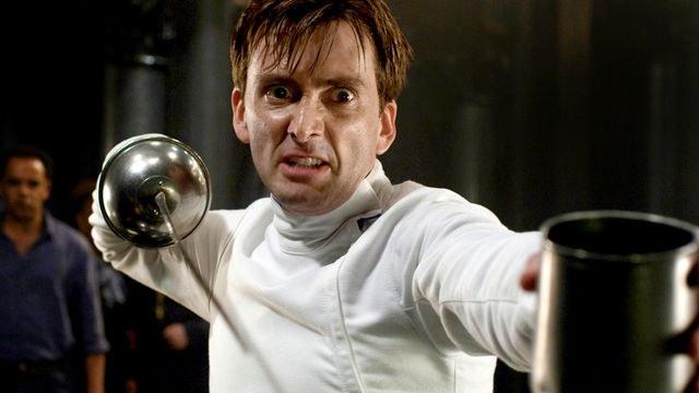 David Tennat in the role of hamlet
