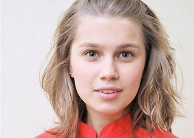 Юная актриса Дарья Мельникова