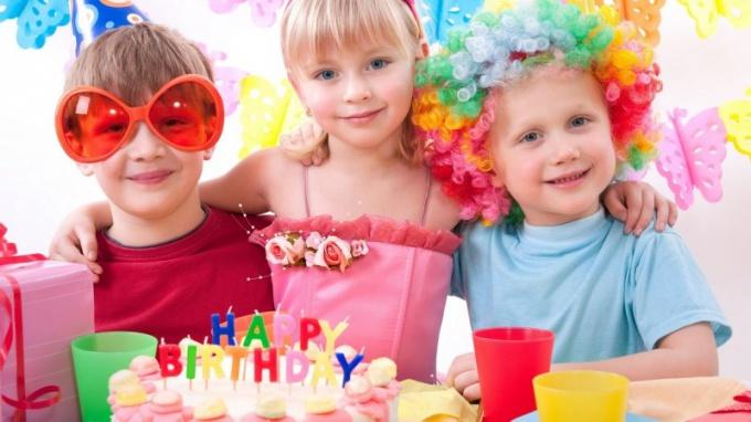 Где отметить день рождения ребенка