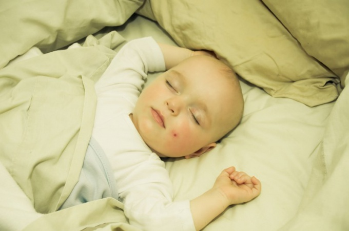 Спать как ребенок