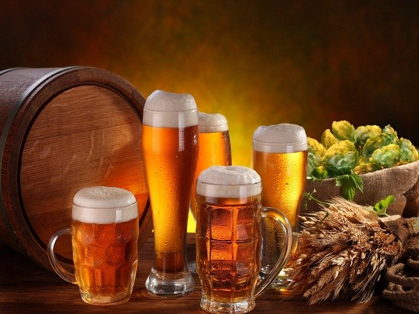 Any component of beer may cause an allergic reaction