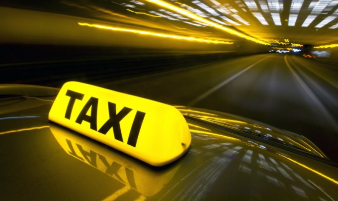 How to get a job in a taxi