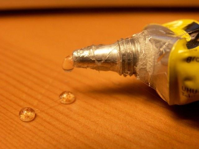 Than to dissolve the glue