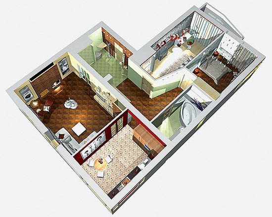 Modern comfortable housing
