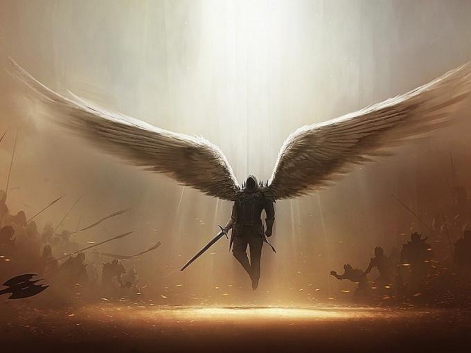 Современная стилизация: представление об архангеле-воине