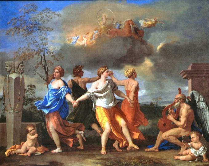 Образец классицизма в живописи