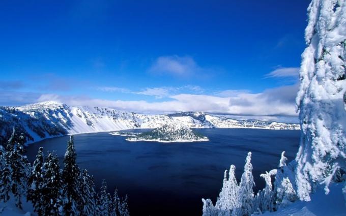 Как называется самое холодное озеро