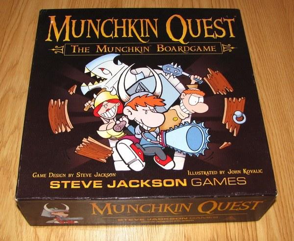 Манчкин - одна из известнейших настольных ролевых игр