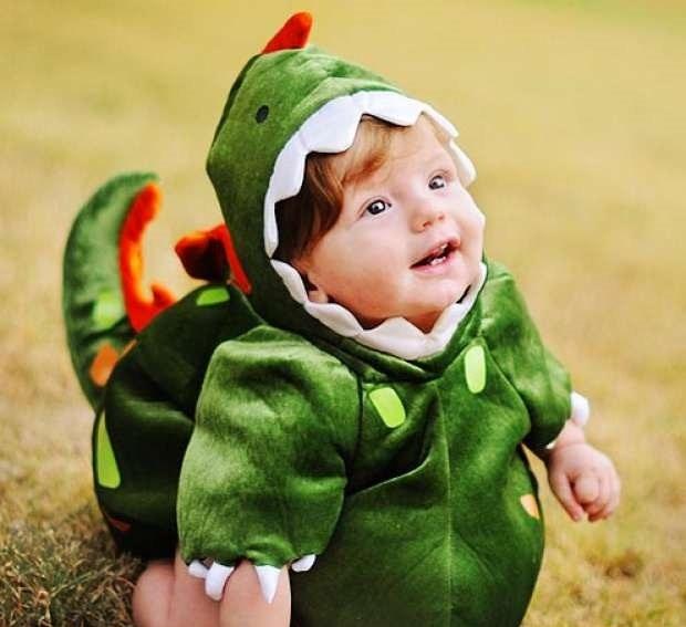 Как сшить ребенку костюм динозавра