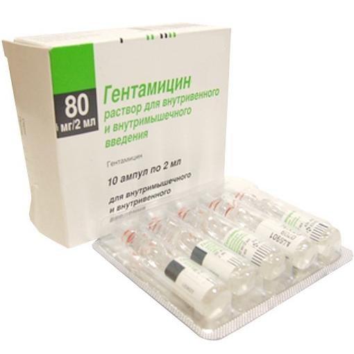"Drug ""Gentamycin"""