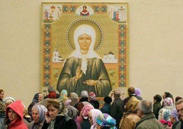 Где в Москве находятся мощи Матроны Московской