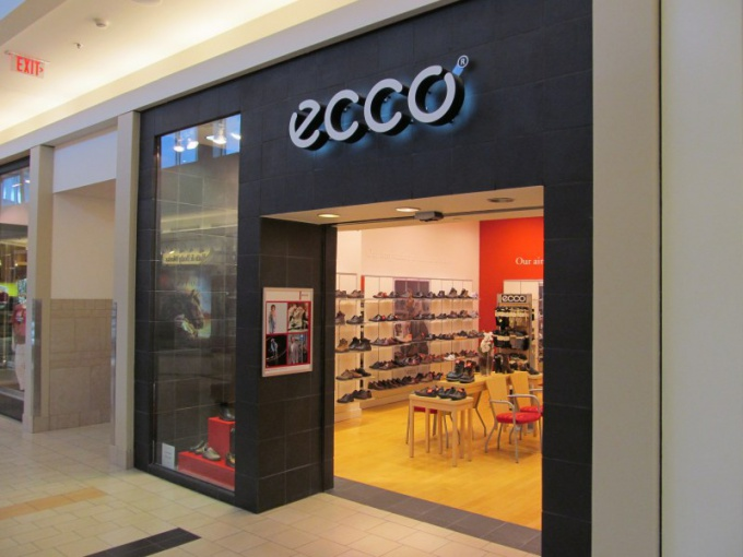 Где сшита обувь, которая поставляется в бутики Экко?