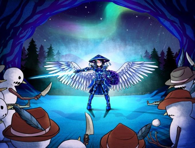 С крыльями персонаж получает новые возможности