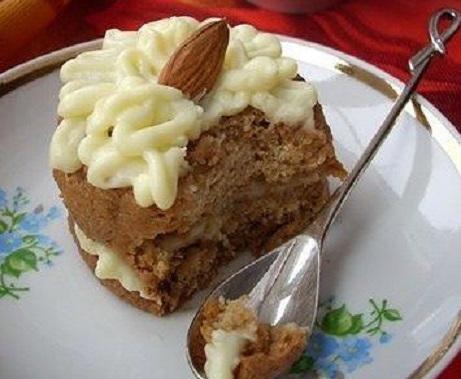 Пирожное из овсяного печенья