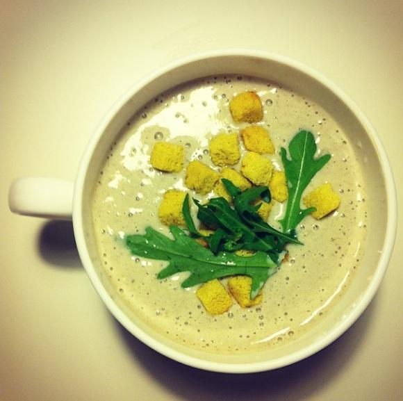 Как сварить крем-суп из шампиньонов