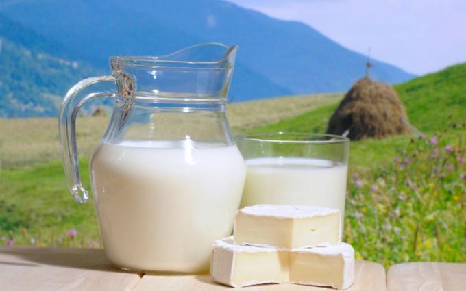 Как делают молоко