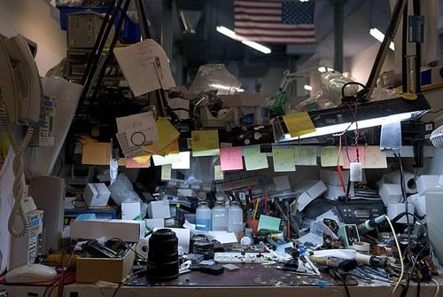 Неправильная организация пространства на работе