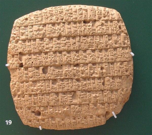 Клинопись Месопотамии