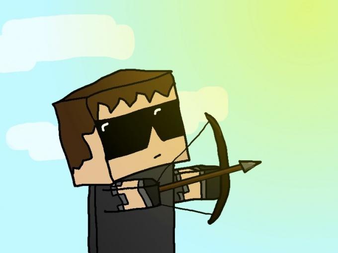 Как сделать лук в minecraft