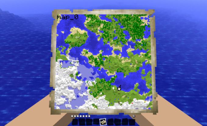 Как в minecraft сделать карту