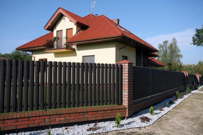 How to put a fence between neighbors