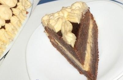 "Торт ""Шоколадный пломбир"""