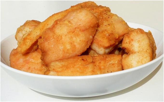 Средиземноморские куриные наггетсы
