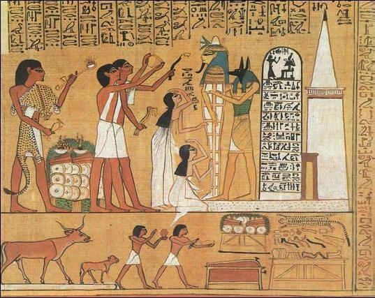"""О чем поветсвует древнеегипетская """"Книга мертвых"""""""