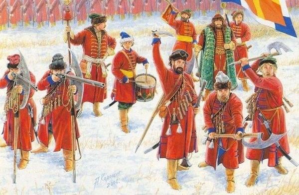 Из представителей каких народов набирали личную охрану русского царя