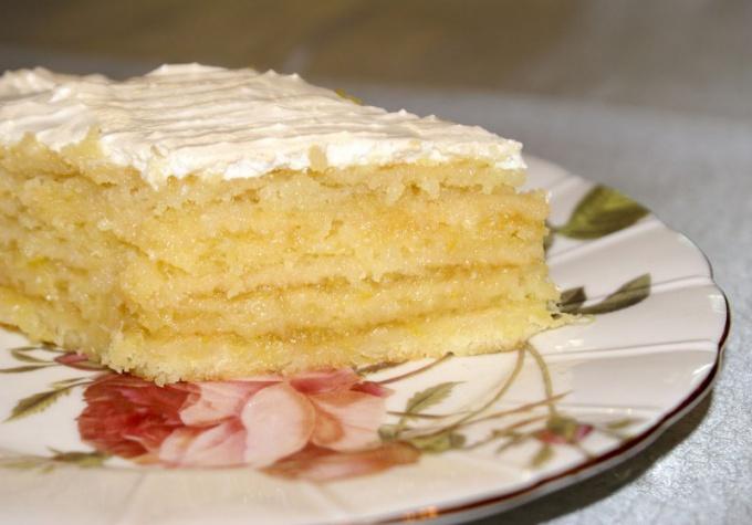 """Рецепт торта """"Лимончино"""""""