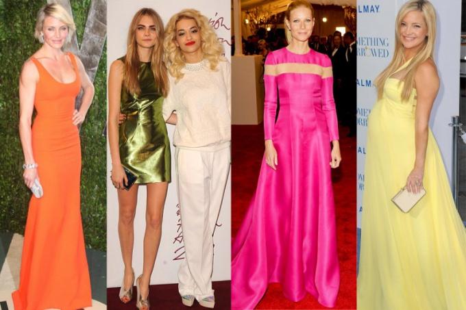 Какие цвета в одежде идут блондинкам