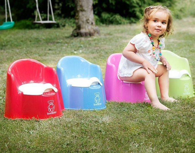 How to choose a potty for girls
