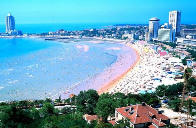 Известные курорты на Желтом море