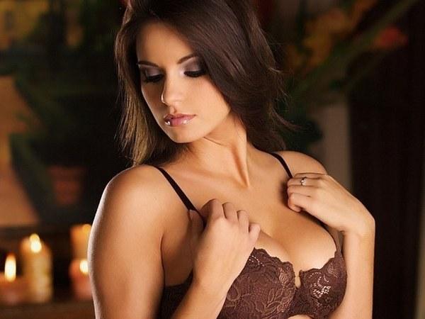 Красивая грудь в лифчике фото